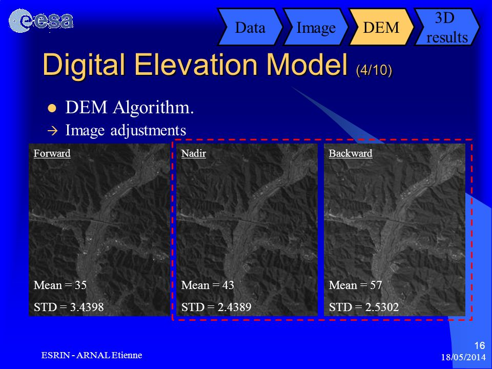 Digital Elevation Model (4/10)