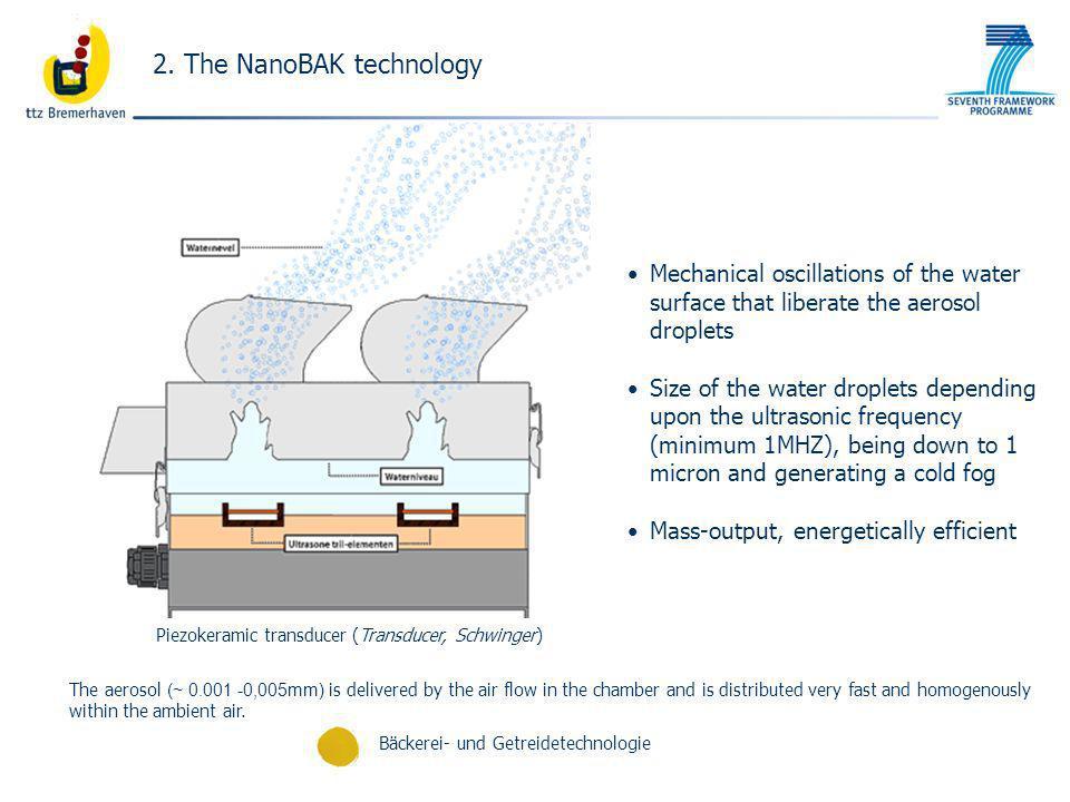 Piezokeramic transducer (Transducer, Schwinger)