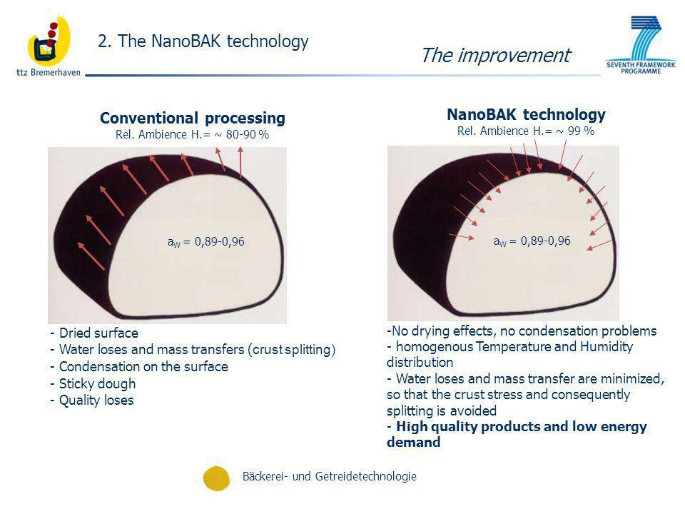 The improvement 2. The NanoBAK technology