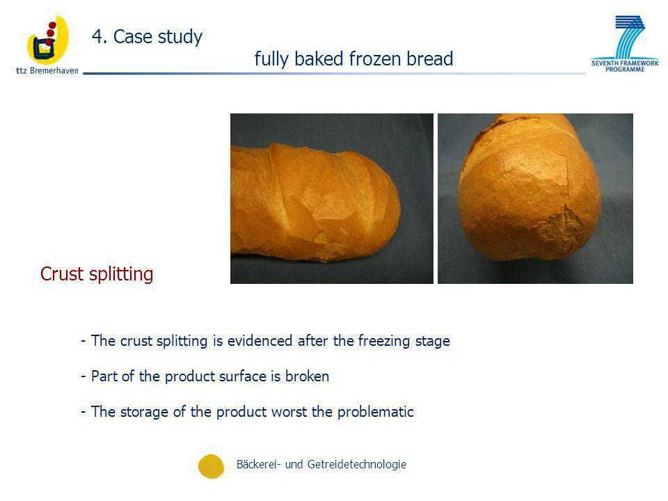 fully baked frozen bread