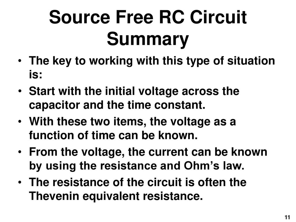Fundamentals Of Electric Circuits Chapter 7 Ppt Download Find The Thvenin Equivalent With Respect To 1nf Capacitor 11 Source