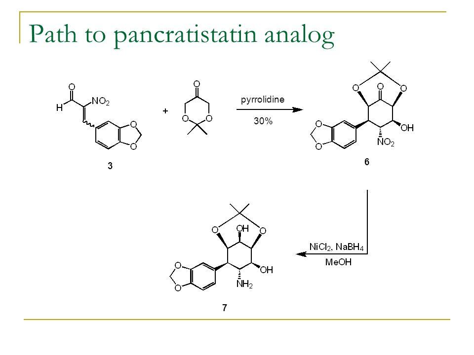 Path to pancratistatin analog