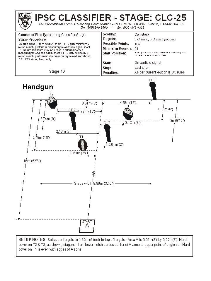 Stage 13 Handgun