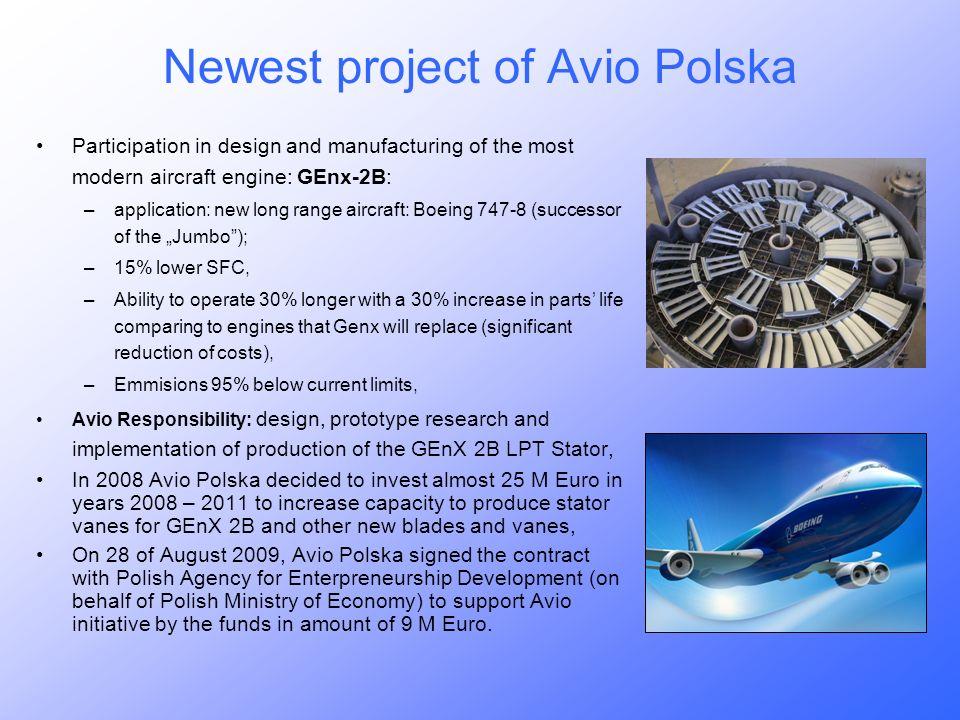 Newest project of Avio Polska