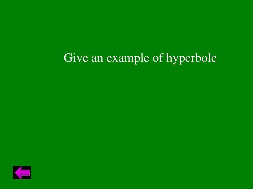 Give 5 Examples Of Hyperbole Images Example Cover Letter For Resume