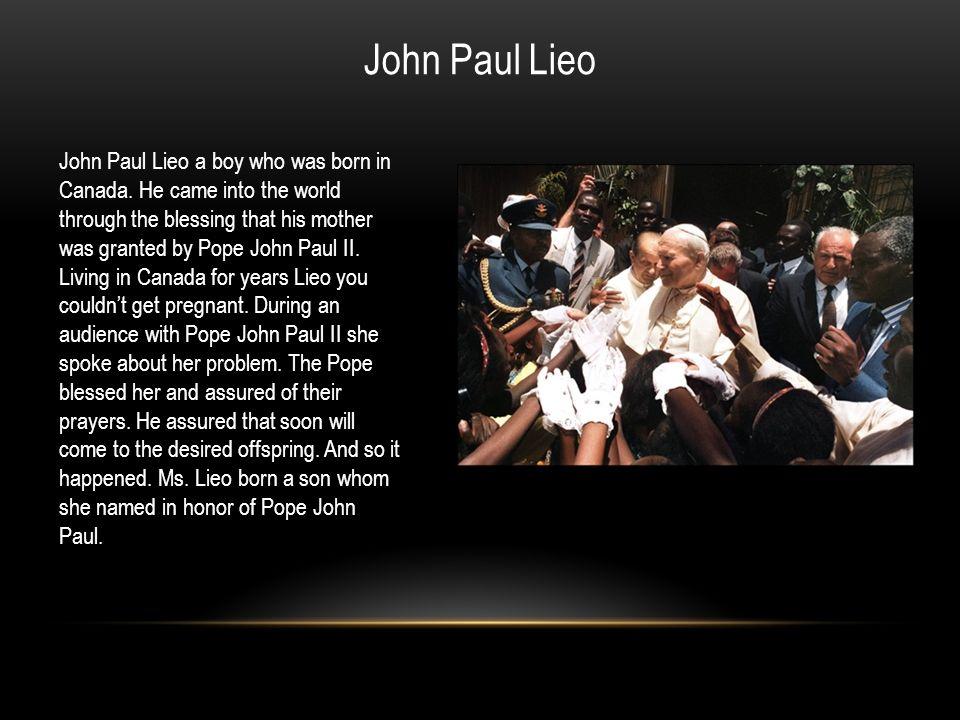 John Paul Lieo
