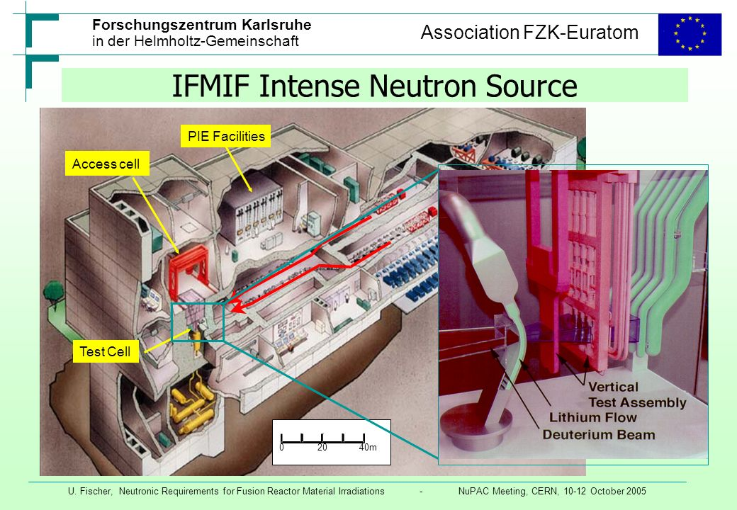 IFMIF Intense Neutron Source
