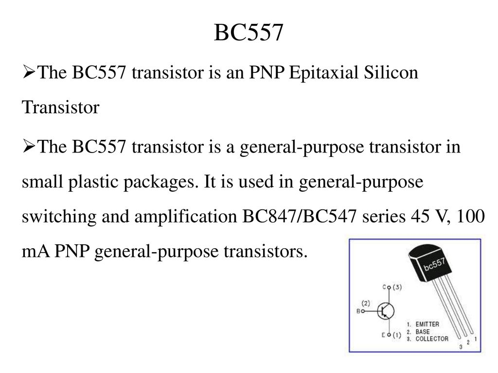 Modern Transistor Bc557 Wikipedia Ensign - Electrical Diagram Ideas ...