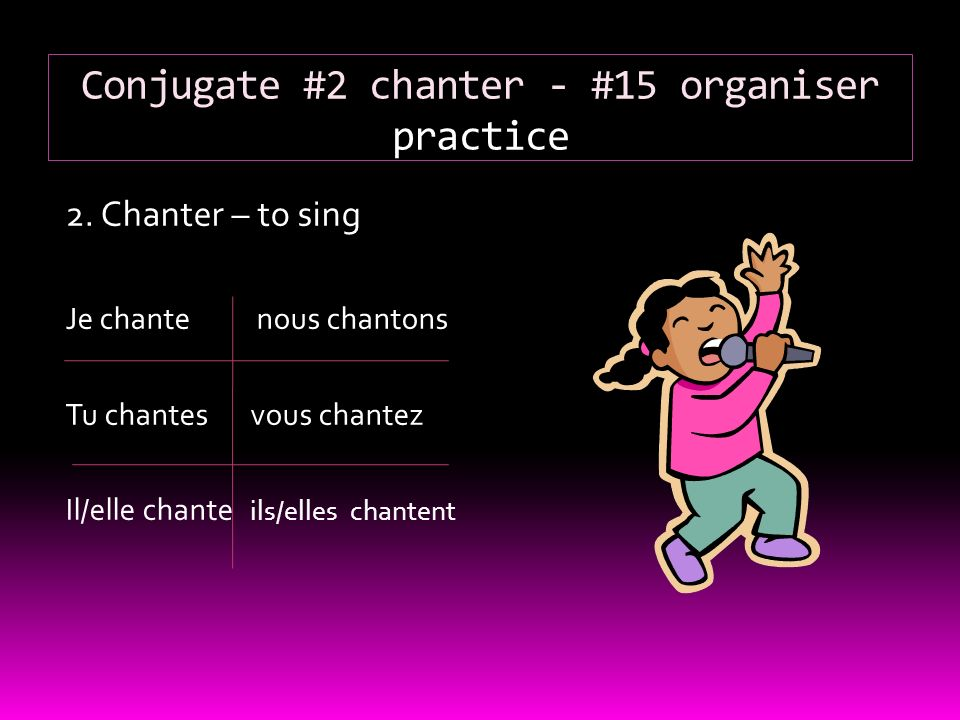 Verbs In French Les Verbes En Fran Ais Ppt Video Online Download