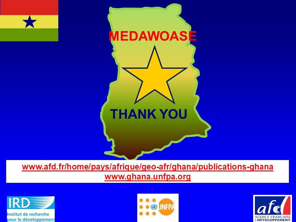 MEDAWOASE THANK YOU. www.afd.fr/home/pays/afrique/geo-afr/ghana/publications-ghana.