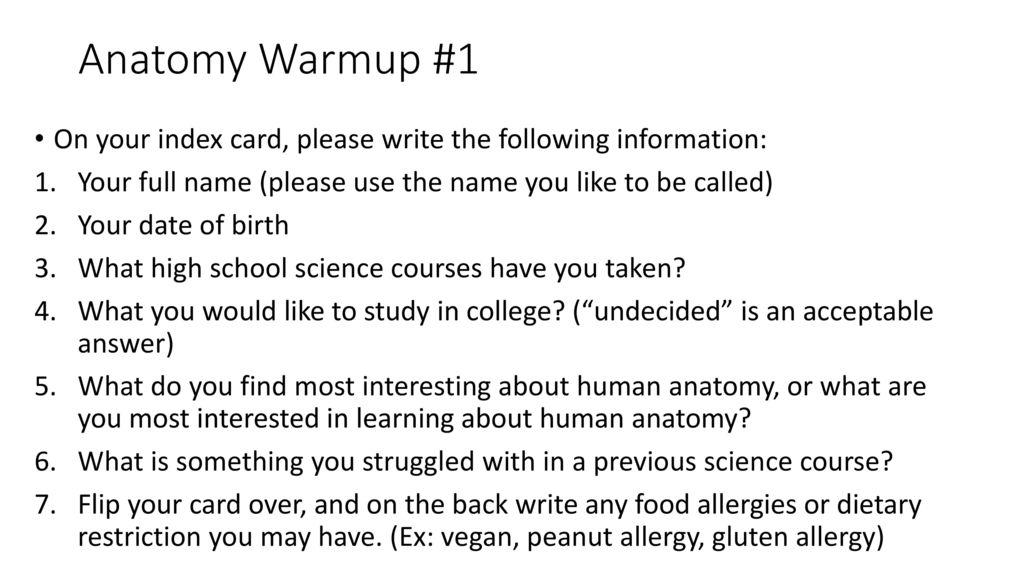Berühmt Why Do You Like Anatomy And Physiology Zeitgenössisch ...
