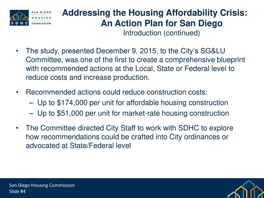 San diego housing commission ppt download an action plan for san diego malvernweather Choice Image