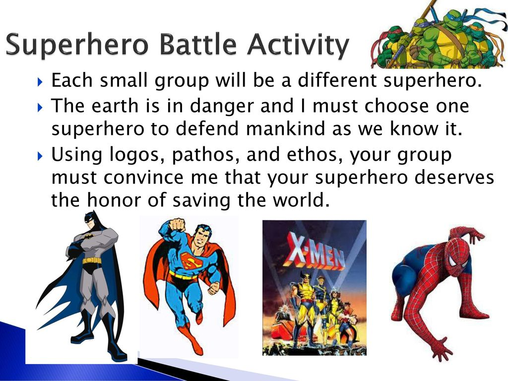 Superhero Battle Activity