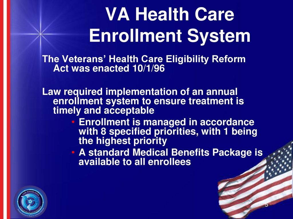 VA Healthcare Benefits: - ppt download