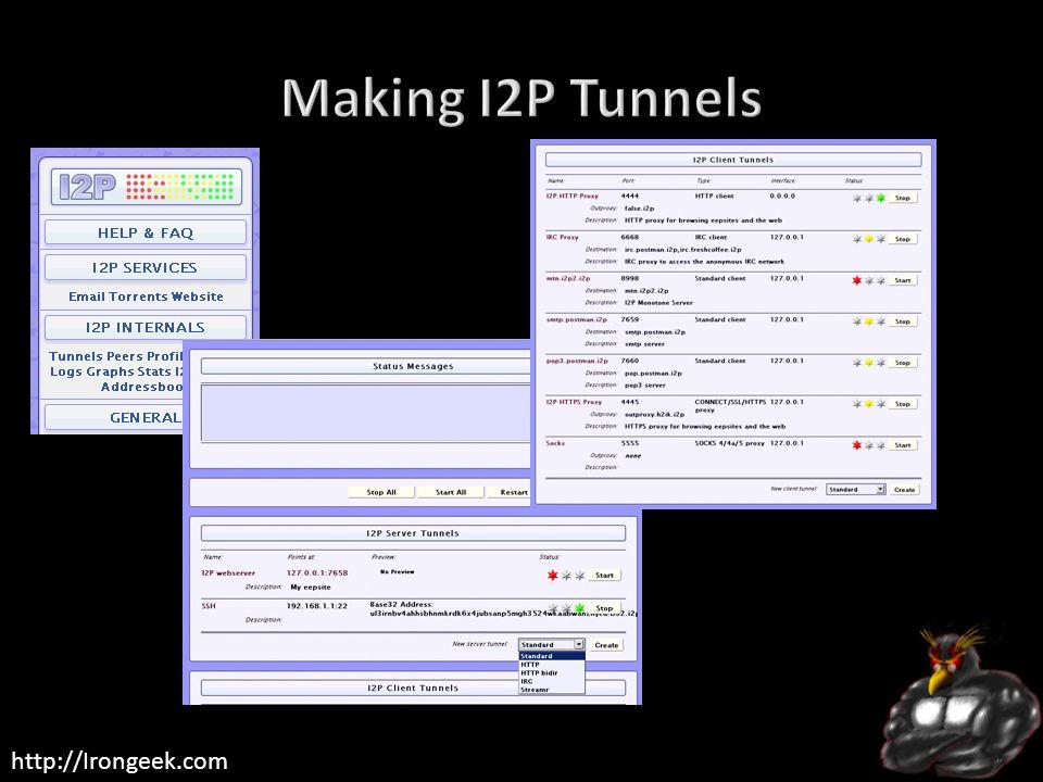 Making I2P Tunnels