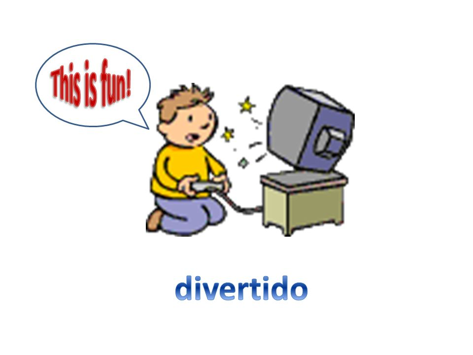 This is fun! divertido