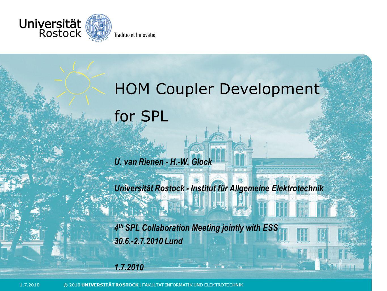 HOM Coupler Development for SPL