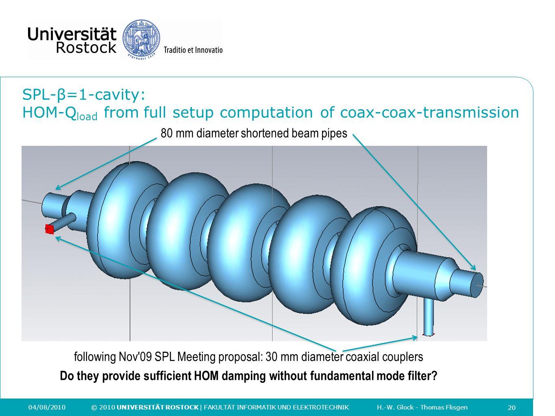following Nov 09 SPL Meeting proposal: 30 mm diameter coaxial couplers
