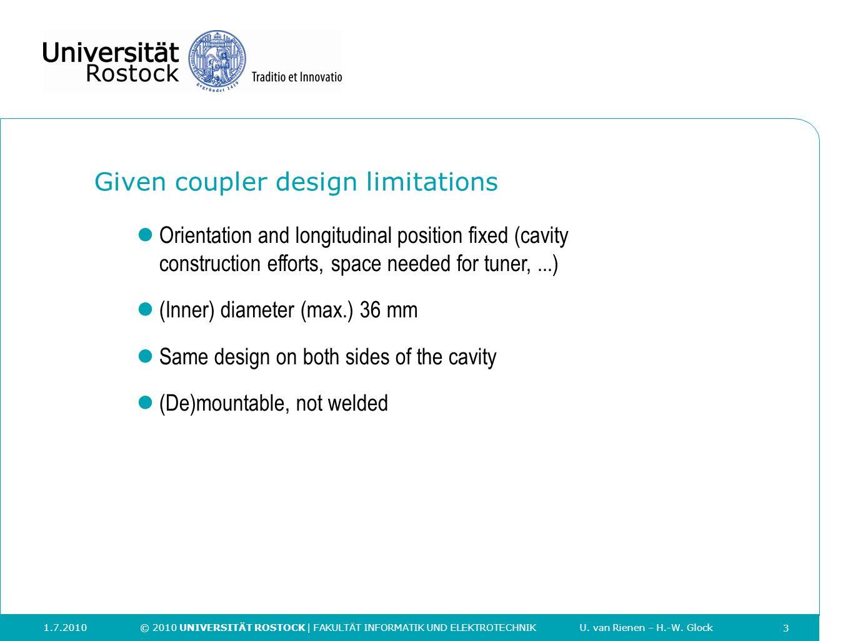 Given coupler design limitations