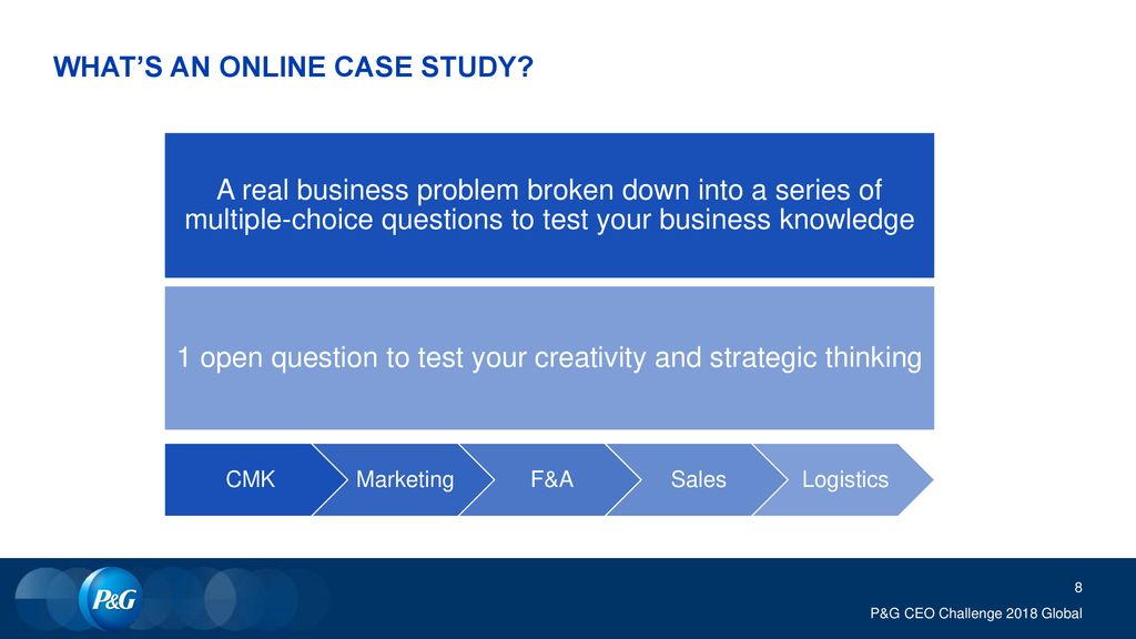 WHAT'S AN ONLINE CASE STUDY