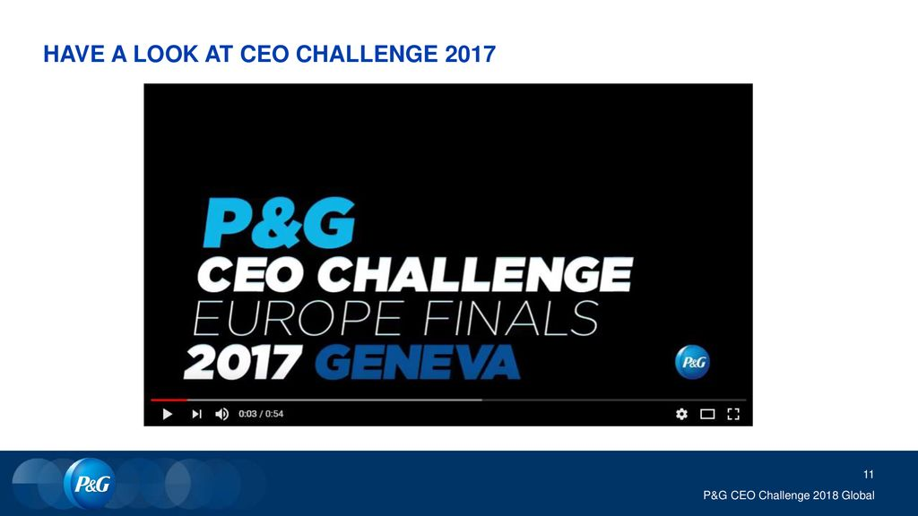 HAVE A LOOK AT CEO CHALLENGE 2017