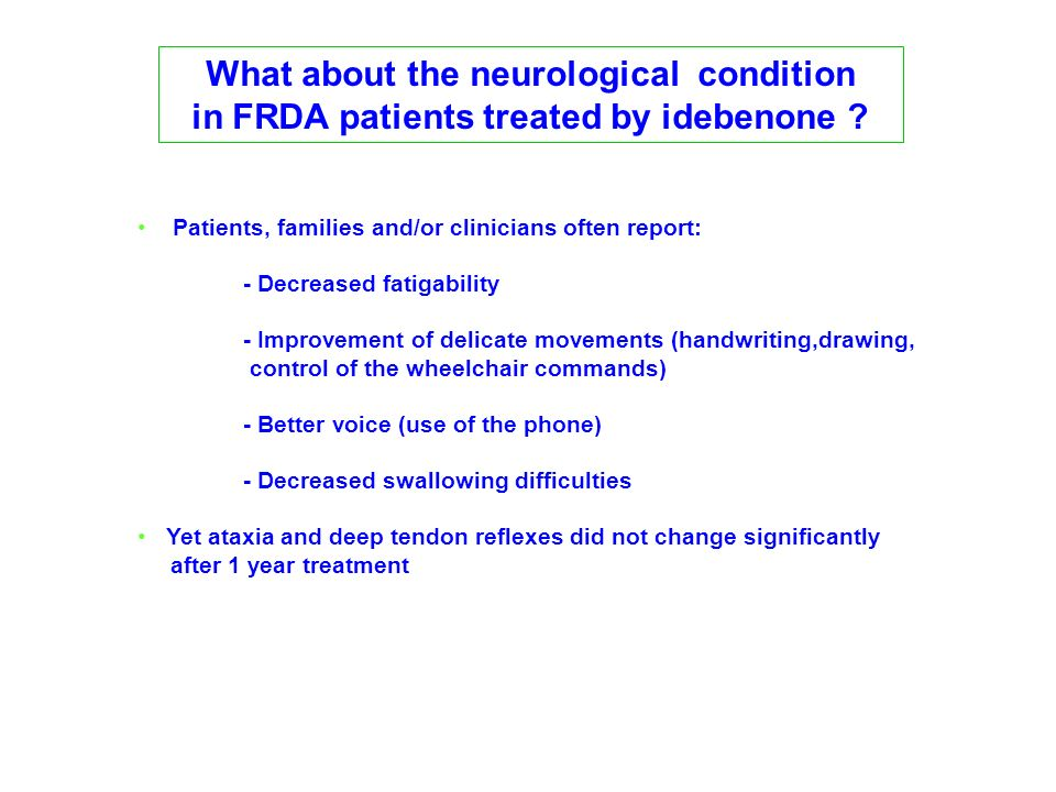 What about the neurological condition