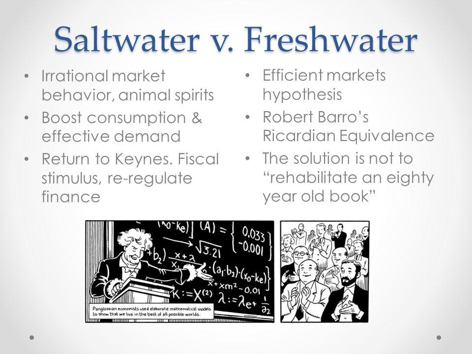 Saltwater v. Freshwater