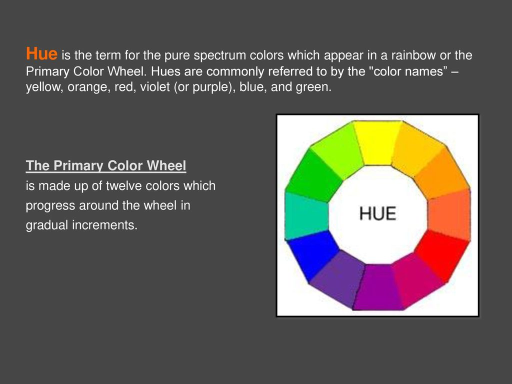 Art In The Classroom Properties Of Color Ppt Download