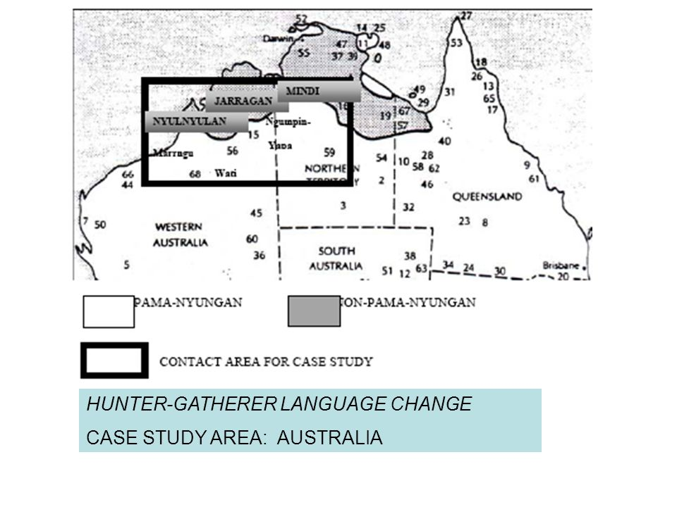 HUNTER-GATHERER LANGUAGE CHANGE