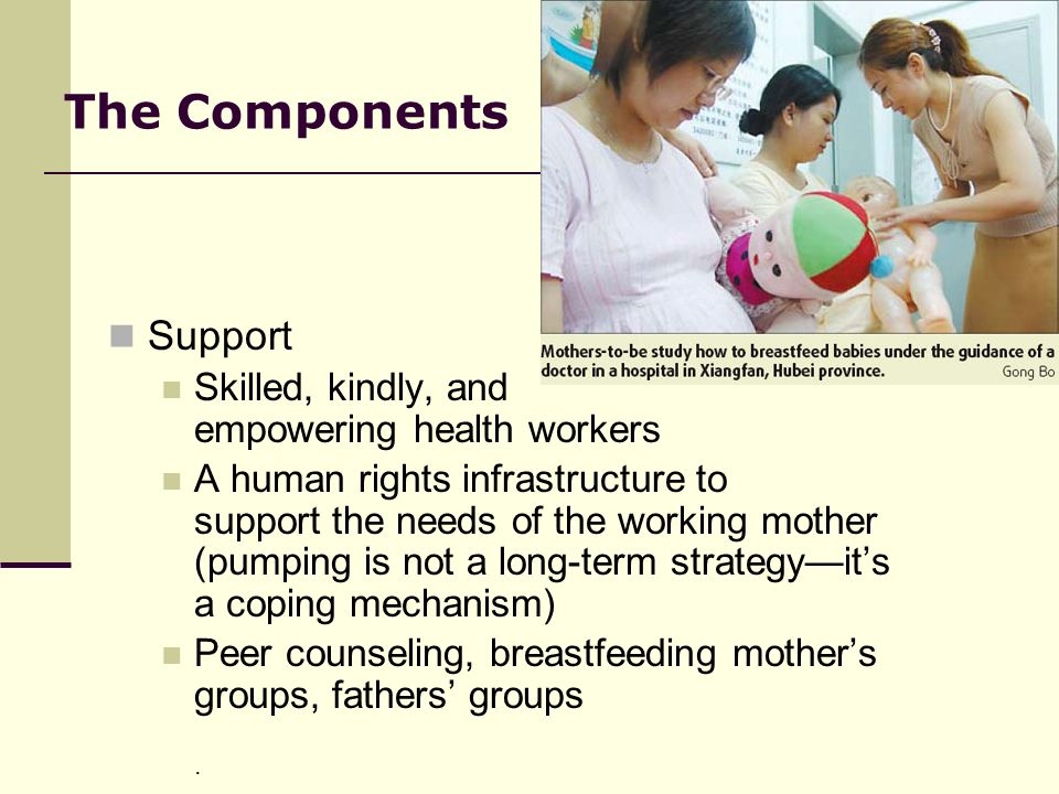 The Components Support Skilled, kindly, and empowering health workers