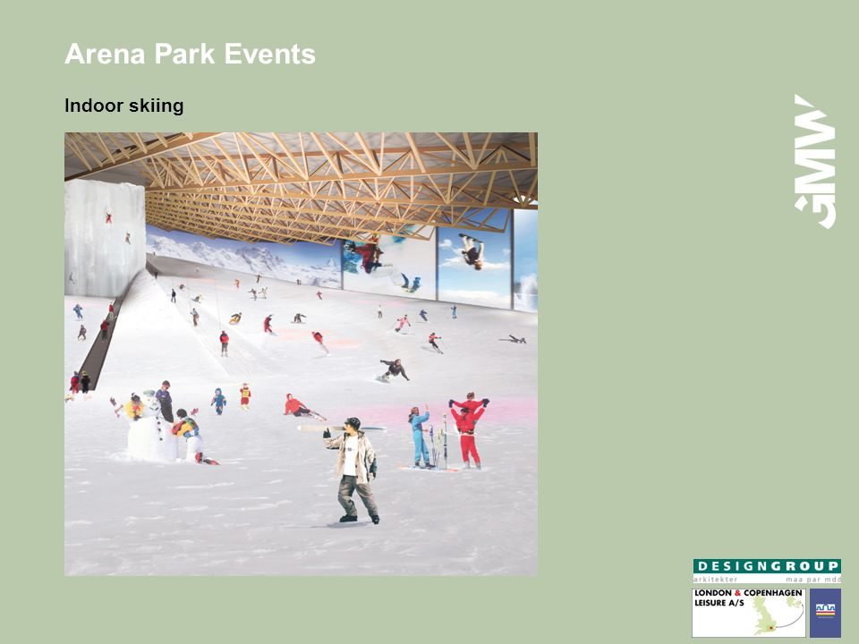 Arena Park Events Indoor skiing