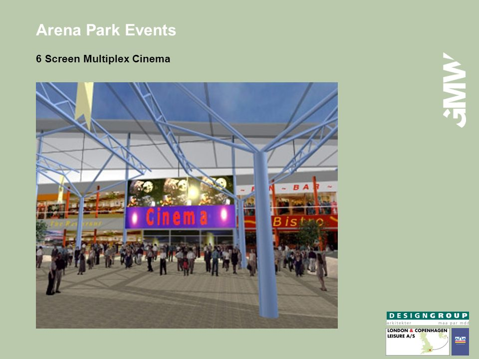 Arena Park Events 6 Screen Multiplex Cinema