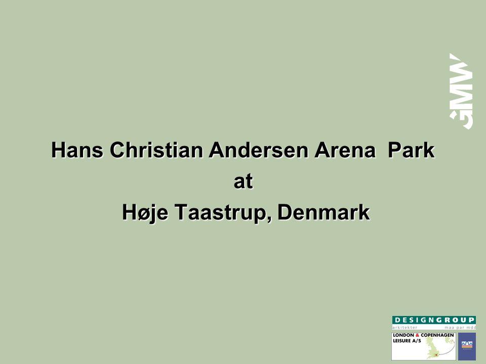 Hans Christian Andersen Arena Park at Høje Taastrup, Denmark