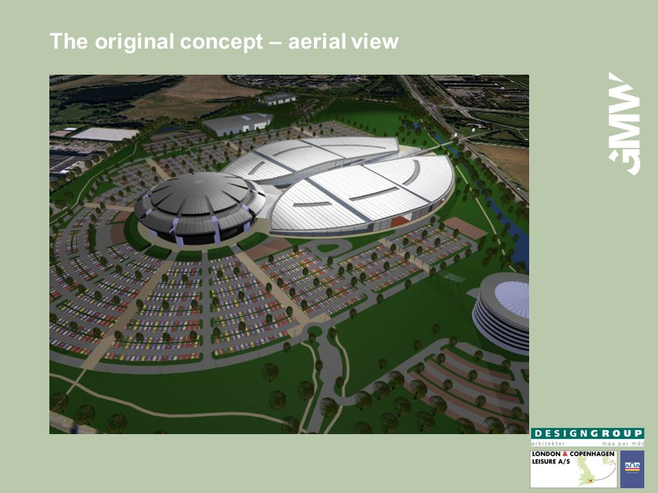 The original concept – aerial view