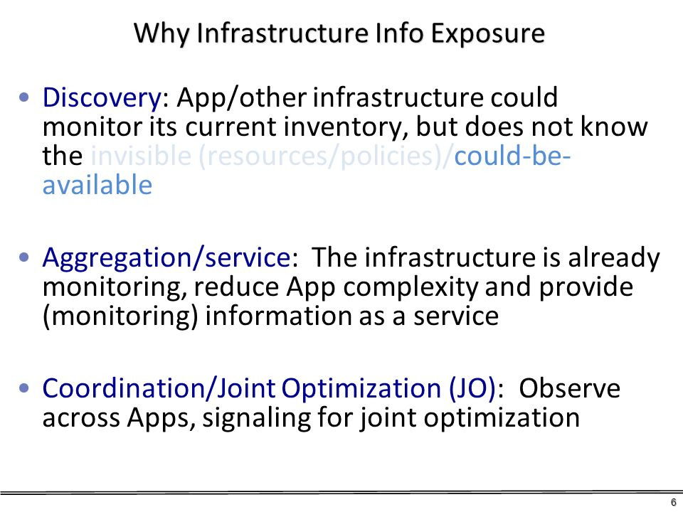 Why Infrastructure Info Exposure