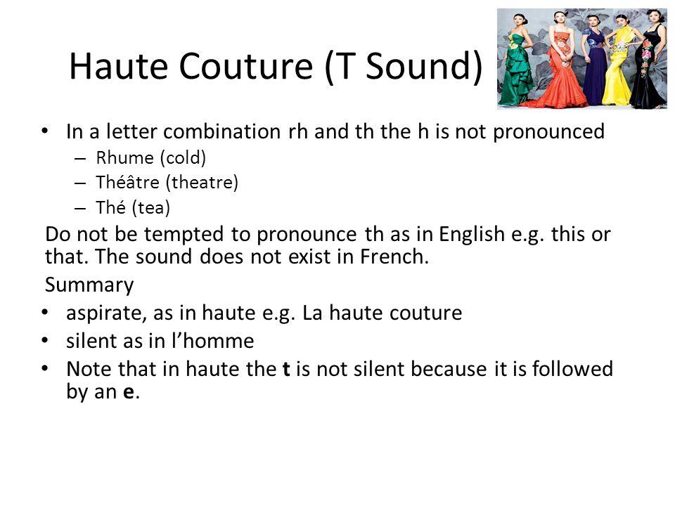Haute Couture (T Sound)