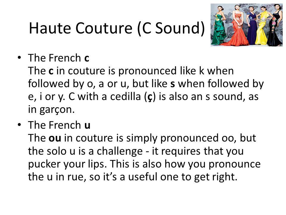 Haute Couture (C Sound)