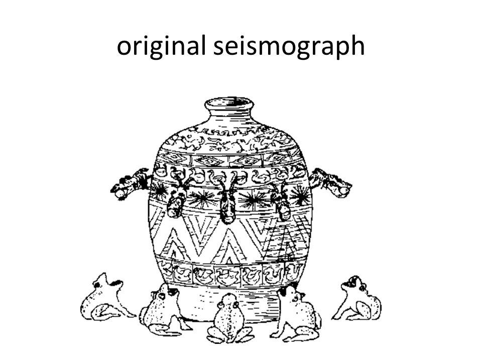 original seismograph