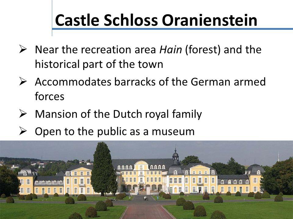 Castle Schloss Oranienstein