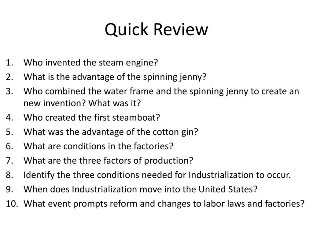 Philosophers of Industrialism - ppt download