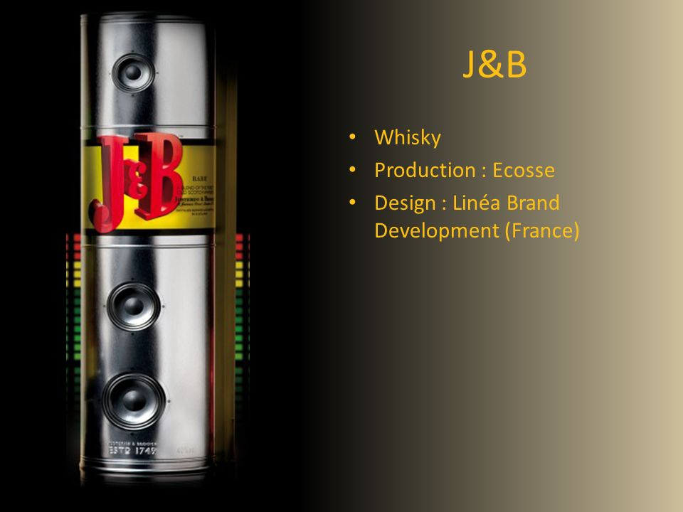 J&B Whisky Production : Ecosse