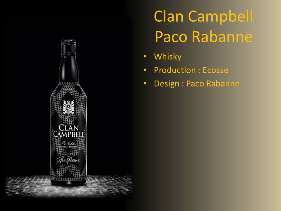 Clan Campbell Paco Rabanne