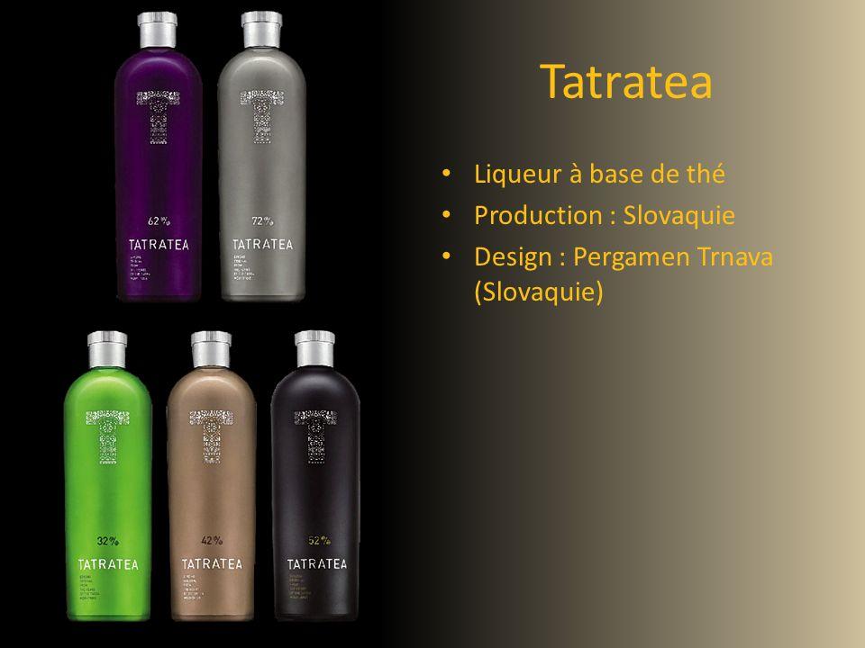 Tatratea Liqueur à base de thé Production : Slovaquie