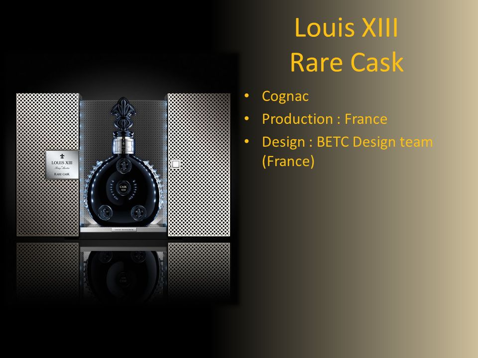 Louis XIII Rare Cask Cognac Production : France