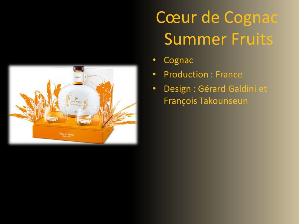 Cœur de Cognac Summer Fruits