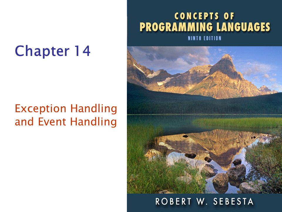 Exception Handling and Event Handling
