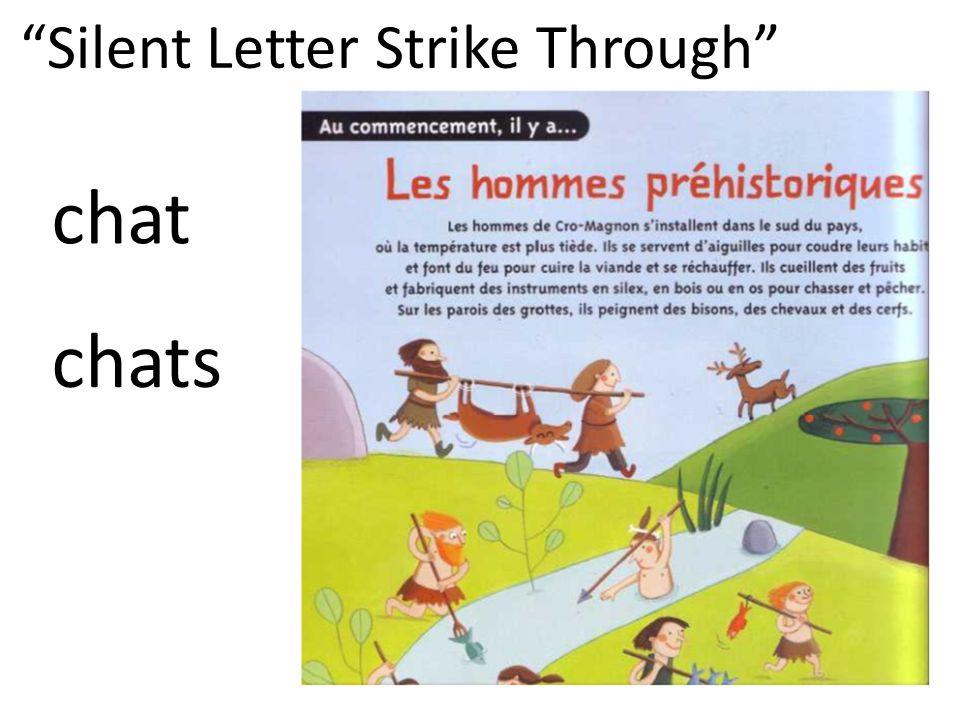 Silent Letter Strike Through