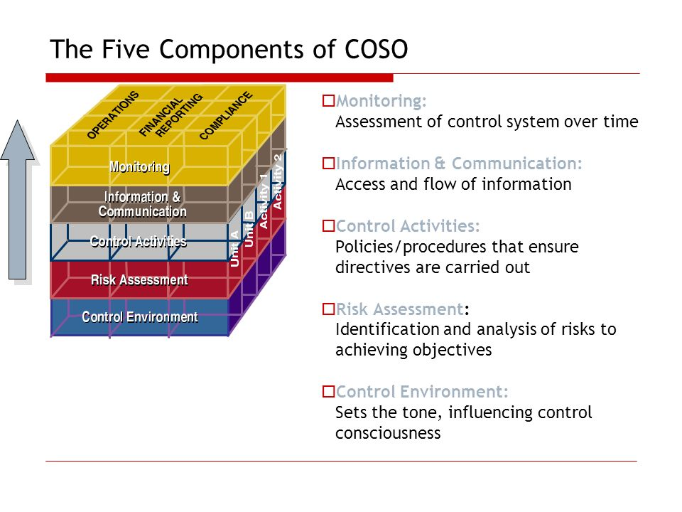 The Five Components of COSO