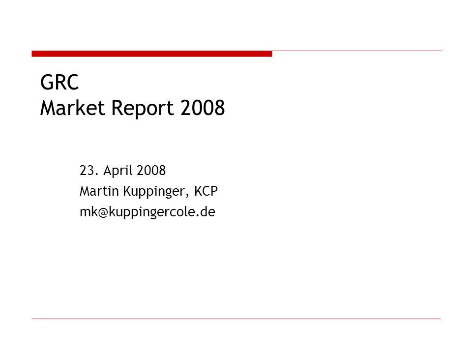 23. April 2008 Martin Kuppinger, KCP mk@kuppingercole.de