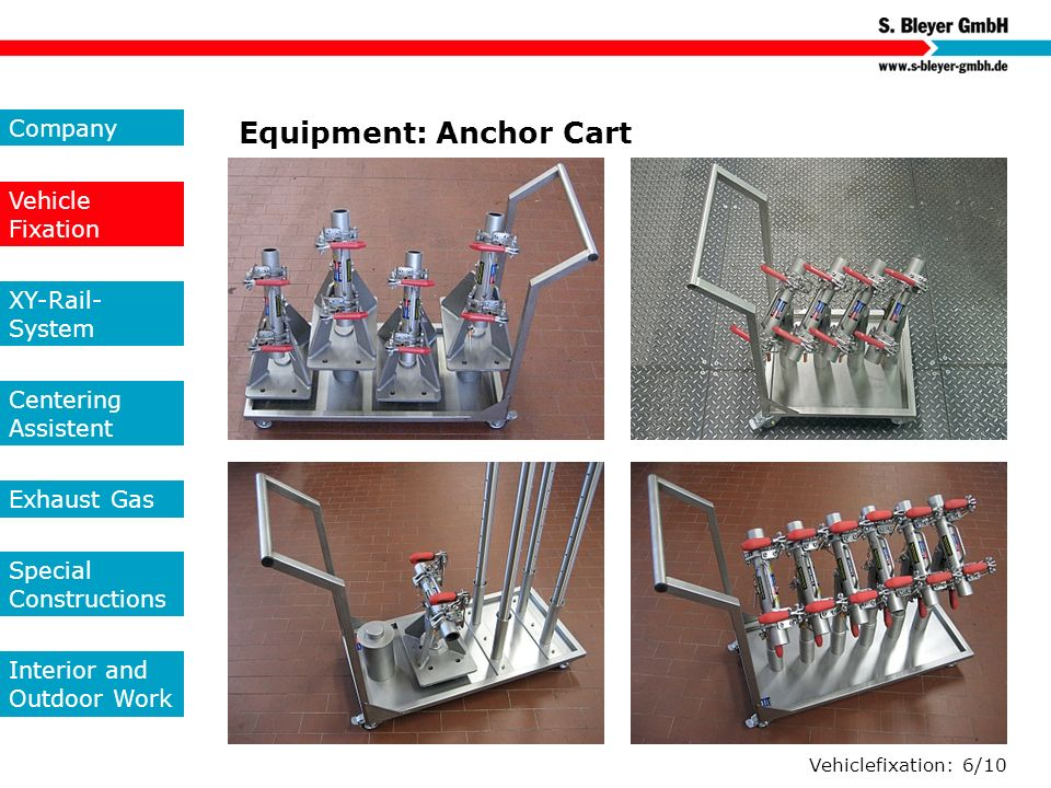 Equipment: Anchor Cart